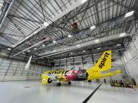 ニュース画像:スピリット航空に新塗装機、ドリームワークス映画「スピリット」とコラボ