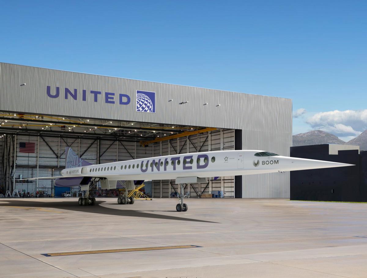 ニュース画像 1枚目:ユナイテッド航空塗装のOverture イメージ