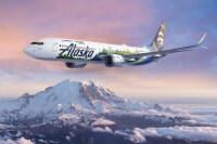 ニュース画像:ボーイング・エコデモンストレーター、 アラスカ航空の737 MAX使用