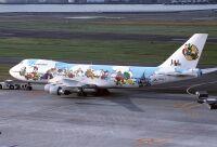 ニュース画像:ハッピーバースデー、歴代ディズニー特別塗装機から「ドナルドダック」探せ!