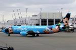 ニュース画像 4枚目:アラスカ航空の「スピリット・オブ・ディズニーランド 1号機」 N784AS (kinsanさん撮影)