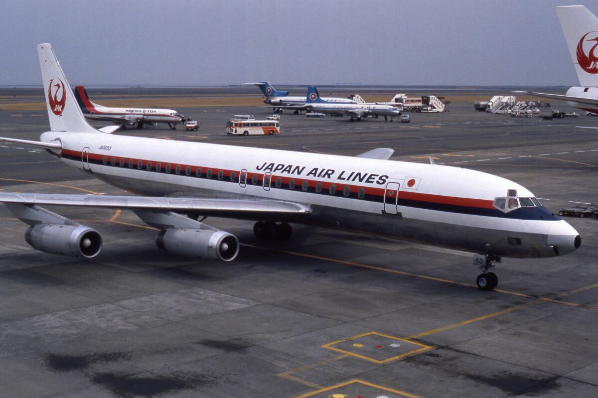 ニュース画像 1枚目:JAL、DC-8 イメージ (sin747さん撮影)