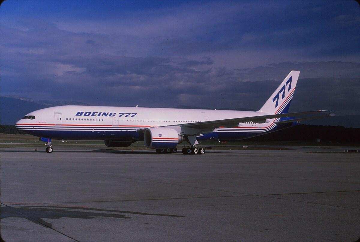 ニュース画像 1枚目:ボーイング テスト機として使用された「N7771」の777-200 (Fuseyaさん撮影)