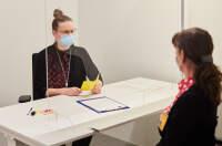 ニュース画像:世界の航空会社、スタッフのワクチン接種進む 日本でも6月下旬に予定