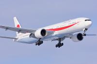 ニュース画像:政府専用機、復路の主務機は往路と同じ機体 G7終了で首相帰国