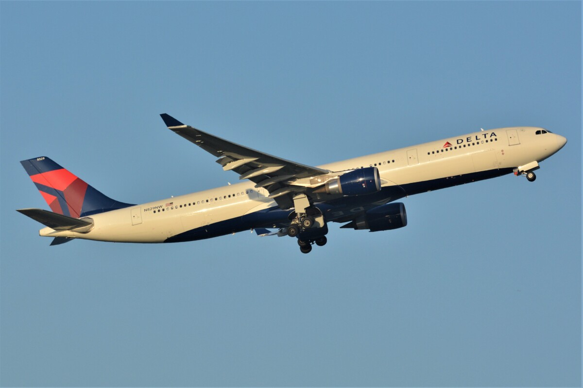 ニュース画像 6枚目:デルタ航空 イメージ (デルタおA330さん撮影)