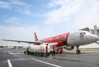 ニュース画像 2枚目:エアアジア A320 貨物搭載イメージ