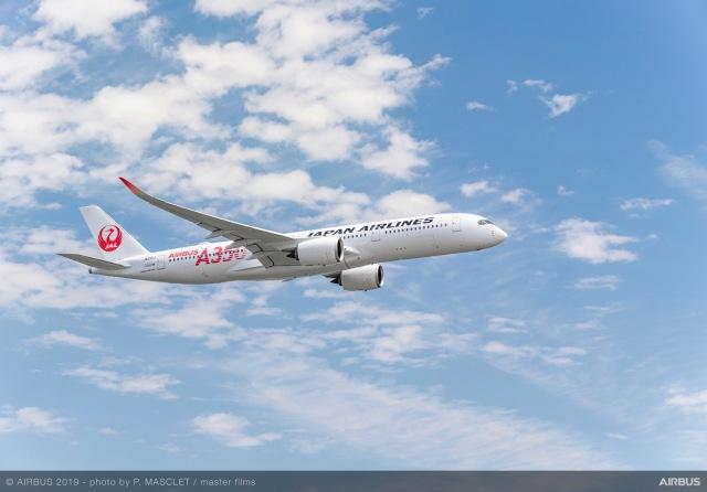 ニュース画像 1枚目:JAL A350 イメージ