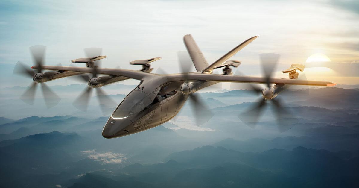 ニュース画像 2枚目:飛行中はローター部が前方に向き、スピードが出る仕様