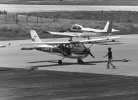 ニュース画像 4枚目:定期便再開前、航空事業のみ展開していた時のセスナ172 (チャーリーマイクさん撮影)