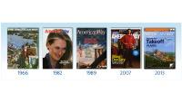 ニュース画像:アメリカン航空、55年の歴史持つ機内誌終了 デジタル・コンテンツ強化