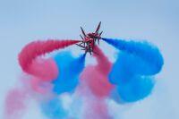 ニュース画像:英レッドアローズ、女王陛下の誕生日祝賀とG7サミット展示飛行掛け持ち