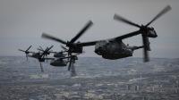 ニュース画像:横田基地、CV-22で人員降下訓練 6月25日まで