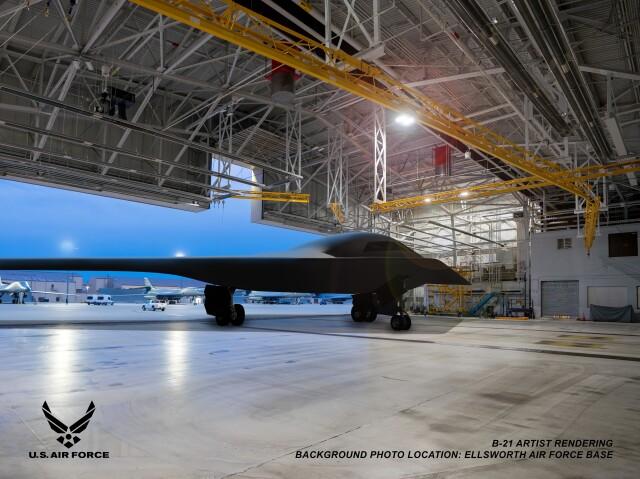 ニュース画像 1枚目:B-21レイダー イメージ
