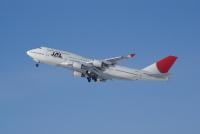 ニュース画像 2枚目:JALで旅客機として運用された747-400「JA8086」。日本の空で再び見る可能性も (北の熊さん撮影)
