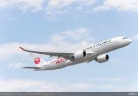 ニュース画像:JAL、A350の9号機「JA09XJ」受領 6月17日に日本到着