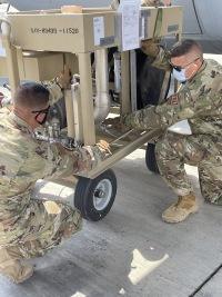 ニュース画像:民間向け燃料を軍用に変換、アメリカ空軍がサウジアラビアで訓練