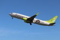 ニュース画像:ソラシドエア、7月は40便減便 運航率は98%