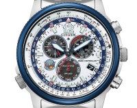 ニュース画像:シチズン時計、「ブルーインパルス」限定モデル発売 T-4とF-86Fイメージ