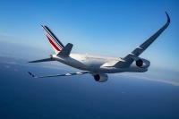 ニュース画像:エールフランス航空、長距離機材更新進む A350の10機目受領