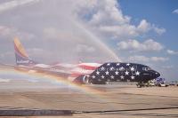 ニュース画像:サウスウェスト航空、50周年で特別塗装機「フリーダム・ワン」就航