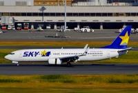 ニュース画像:スカイマーク、7月の運航率77.5% 19路線で減便