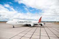 ニュース画像:カリッタエア、747-400F新塗装を公開 日本飛来に期待