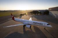 ニュース画像:ヘルベティック・エア、E195-E2の1機目受領 7月末までに3機追加