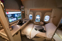ニュース画像:JMB、8月末にエミレーツ・ファーストクラス特典航空券の新規予約終了