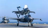 ニュース画像:アメリカ海兵隊F-35B、78年ぶり他国空母から実戦参加