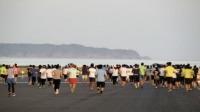 ニュース画像:鳥取空港、滑走路早朝マラソンを開催へ 参加者を募集
