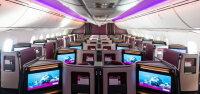 ニュース画像:カタール航空、787-9で初の旅客便運航 新ビジネス・スイート搭載