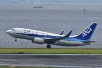 ニュース画像:ANAの737-700、「JA05AN」が離日 残り1機に