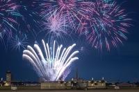 ニュース画像:横田基地、アメリカ独立記念日祝う打ち上げ花火 20時30分ごろ