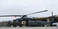 ニュース画像:アフガンでハードランディングも任務遂行したペイブホーク「401」退役