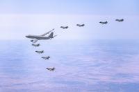 ニュース画像:空母クイーン・エリザベス搭載の英米F-35、イスラエル空軍と演習実施
