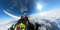ニュース画像:グライダーで1,084キロメートル飛行、国内初の長距離記録