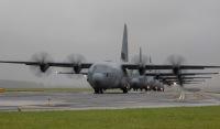 ニュース画像:横田基地、C-130Jで人員降下訓練 7月9日までの2日間