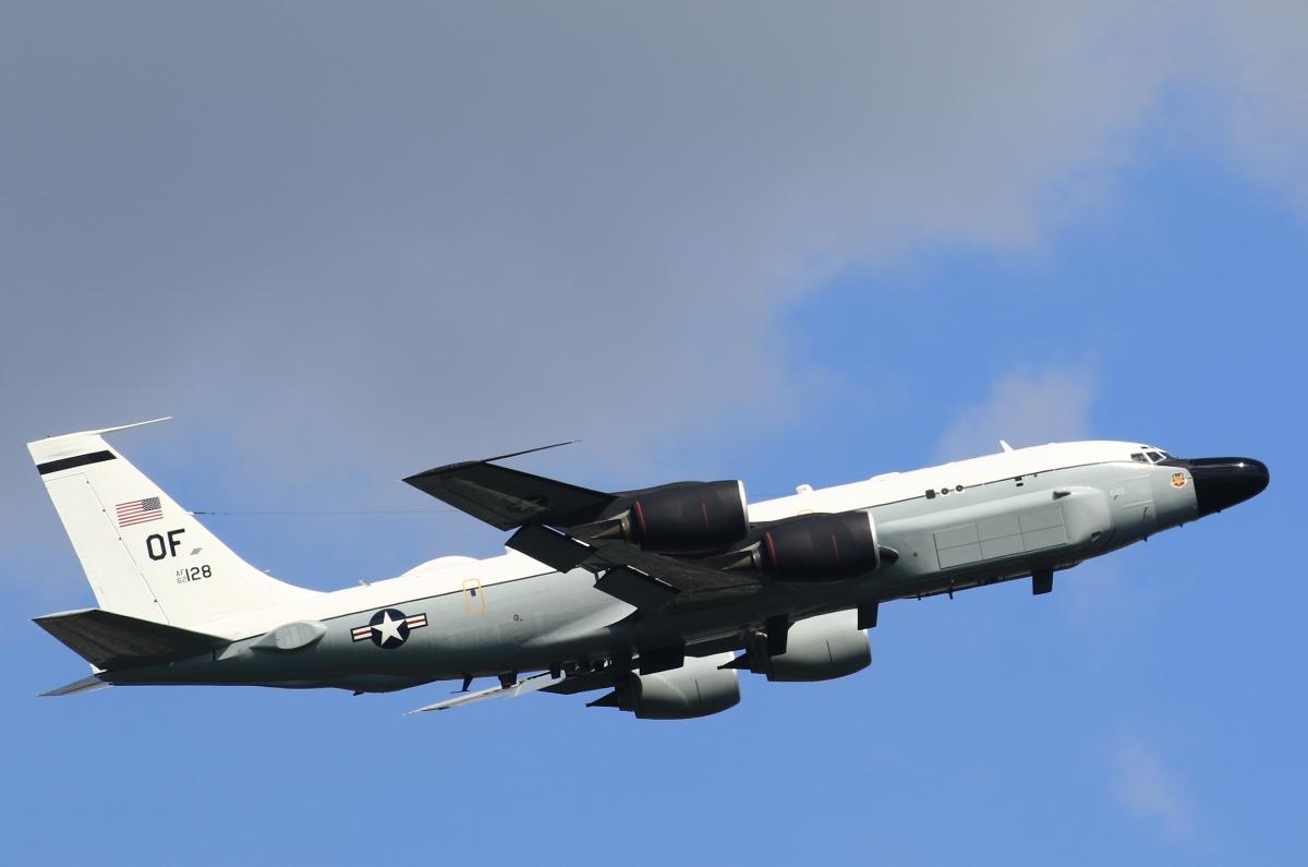 ニュース画像 1枚目:アメリカ空軍 RC-135Sコブラボール「62-4128」 (F-4さん撮影)