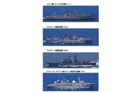 ニュース画像 3枚目:統合幕僚監部が発表した対馬海峡を通過、北上したロシア海軍艦艇 主要4隻