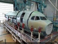 ニュース画像:A321XLR、前部胴体の最終組み立て開始