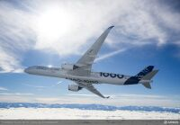 ニュース画像:エアバス、ロシアでA350-1000初披露 MAKS 2021