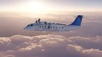 ニュース画像:ユナイテッド航空、電動旅客機ES-19を100機購入 温暖化ガス排出ゼロ