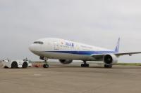 ニュース画像:ANAの777-300ER「JA780A」離日 長距離機材の早期退役 完了