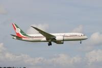 ニュース画像:メキシコ政府専用機ボーイング787、売却噂される中 成田飛来