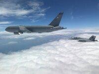 ニュース画像:KC-46A、センターライン・ドローグ・システムをICR宣言