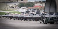 ニュース画像:F-22ラプター25機、グアム・アンダーセン空軍基地に展開