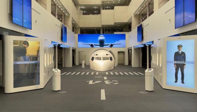 ニュース画像 1枚目:JAL工場見学スカイミュージアム展示エリア