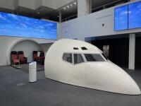 ニュース画像 2枚目:JAL工場見学スカイミュージアム コクピット&客室モックアップ