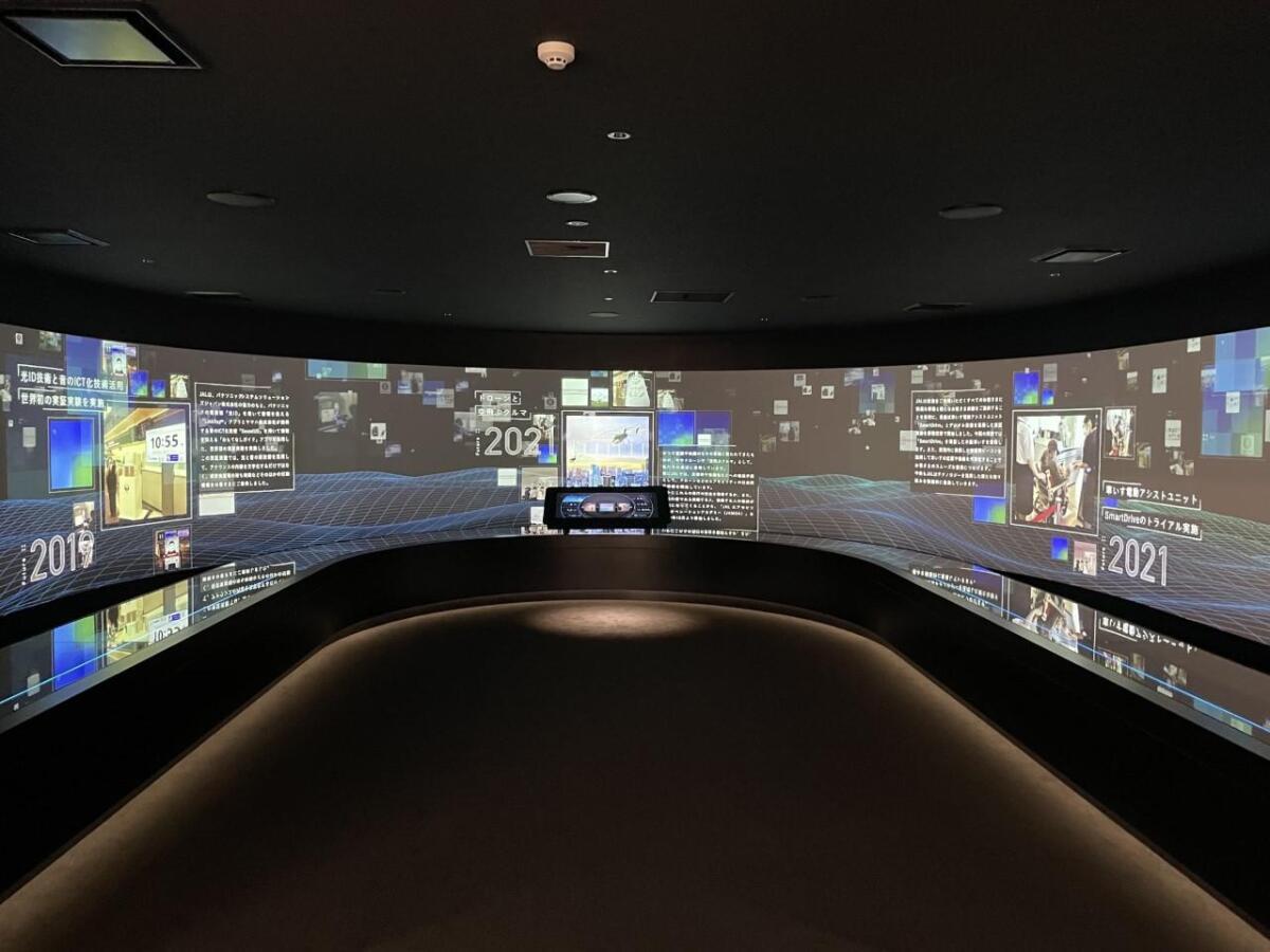 ニュース画像 4枚目:JAL工場見学スカイミュージアム フューチャーゾーン